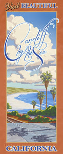 Visit Beautiful Cardiff by the Sea California Giclée on Canvas