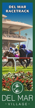 Load image into Gallery viewer, Del Mar Racetrack Giclée Print on Canvas