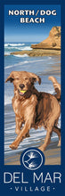 Load image into Gallery viewer, Del Mar Dog Beach Giclée Print on Canvas