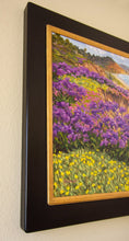 "Load image into Gallery viewer, Del Mar Springtime Original Oil on Linen 30"" x 30"""