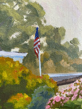 Load image into Gallery viewer, Del Mar, California, impressionistic oil painting on canvas board by Jim McConlogue