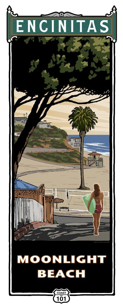 Moonlight Beach Poster 14
