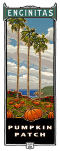 "Pumpkin Patch Poster 14"" x 36"""