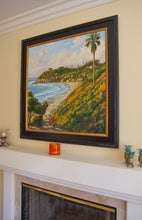 Load image into Gallery viewer, Evening Surf Giclée on Canvas or Paper