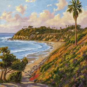 Evening Surf Giclée on Canvas or Paper
