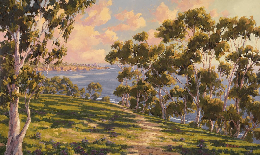 La Jolla Golden Hour Giclée on Canvas