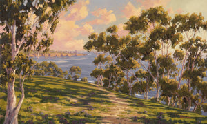 "Golden Hour La Jolla 60"" x 36"""