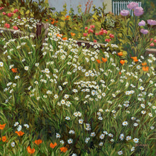 Load image into Gallery viewer, John & Heather's Garden Original Oil on Linen