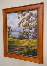 "Load image into Gallery viewer, La Jolla Overlook Original Oil Painting 21"" x 27"""