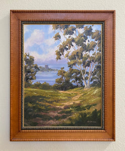"La Jolla Overlook Original Oil Painting 21"" x 27"""