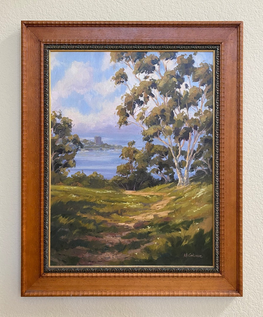 La Jolla Overlook Original Oil Painting 21
