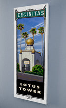 Load image into Gallery viewer, Lotus Tower Giclée Print on Canvas