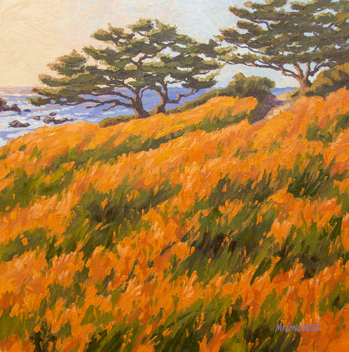 Northern California Coastal Painting Big Sur area