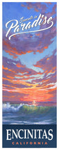 "Load image into Gallery viewer, Sunsets in Paradise Poster 14"" x 36"""