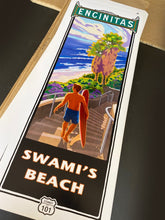 "Load image into Gallery viewer, Swami's Beach Poster 14"" x 36"""