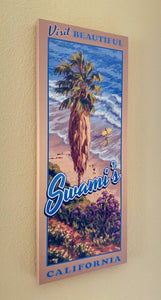 Visit Beautiful Swami's California Giclée Print on Canvas