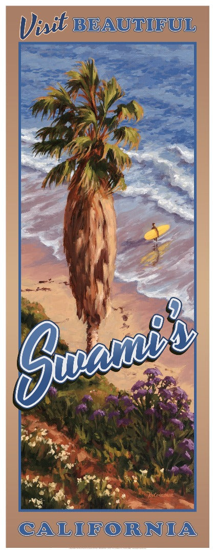 Visit Beautiful Swami's California Poster 14