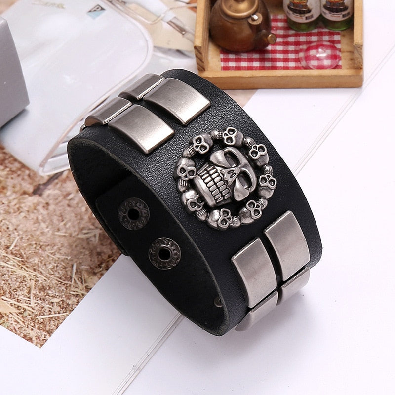 Retro Leather Men's Bracelet