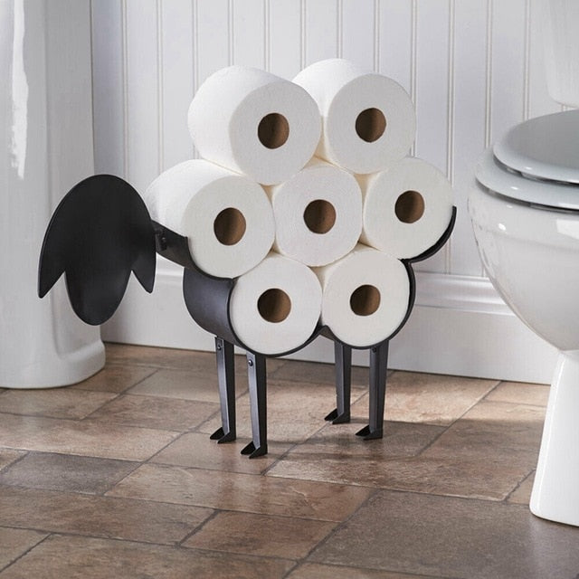 Decorative Sheep Toilet Paper Holder