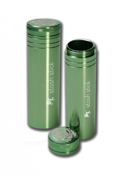 Stash Stick Premium storage container made of thick aluminum Length: 95mm Diameter: 30mm