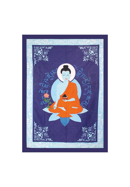 Wall cloth Medicine Buddha