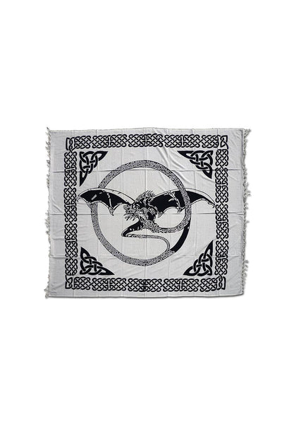 Wall cloth Celtic Winged Dragon