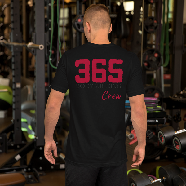 365 Bodybuilding Crew T-shirt