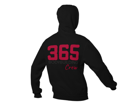 365 Bodybuilding Crew Hooded Sweatshirt