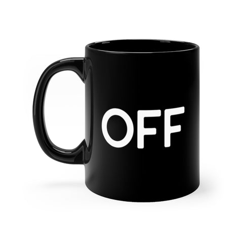 OFF - Black mug 11oz