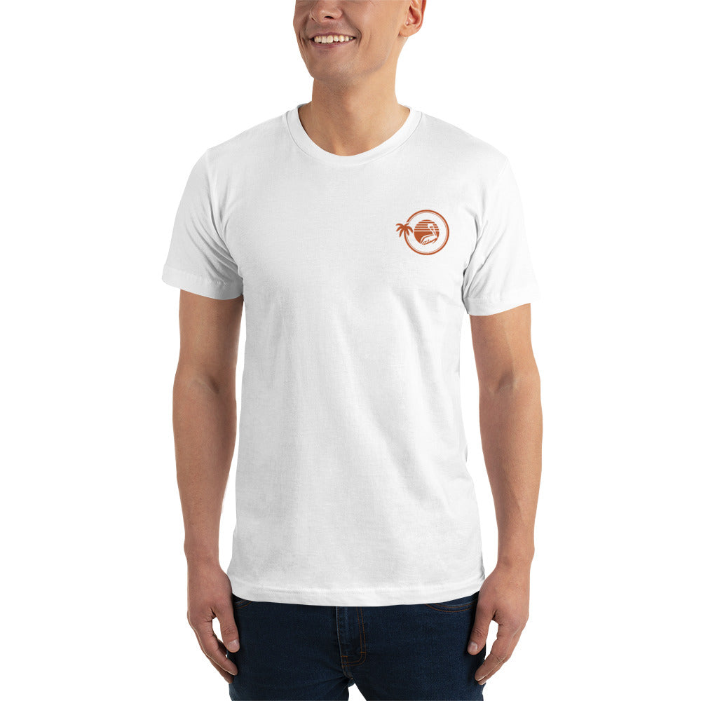 St. Pete Orange Embroidered Shirt