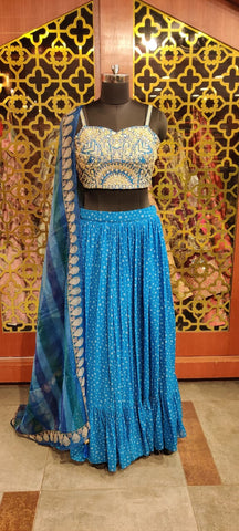 Party wear Lehnga