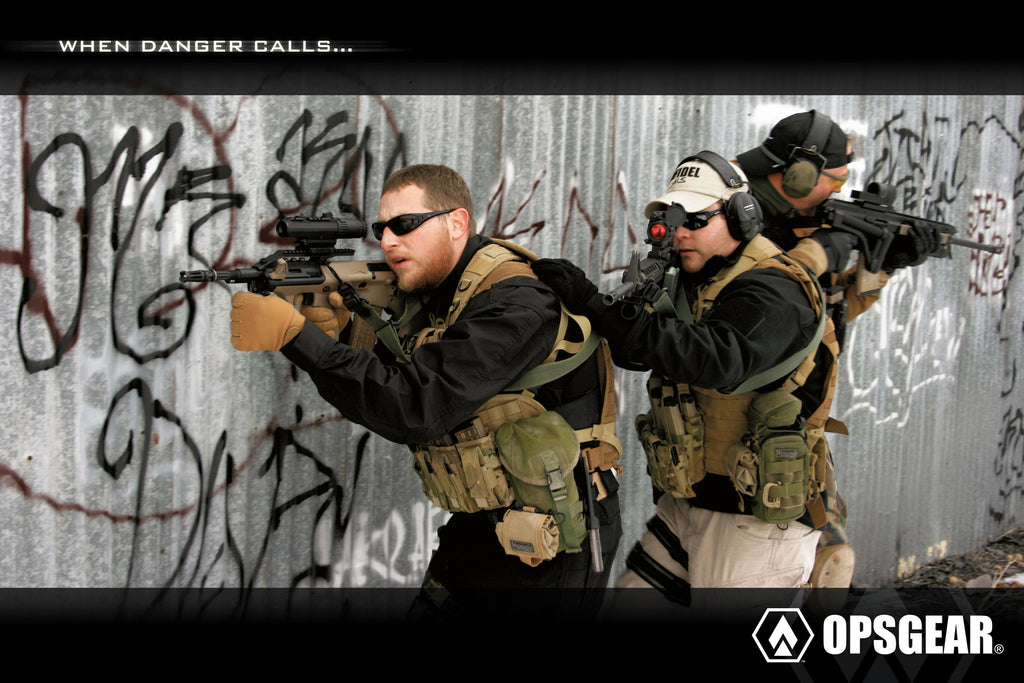 OPSGEAR When Danger Calls Poster