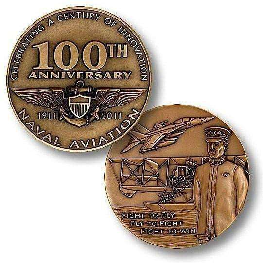 100th Anniversary Naval Aviation Challenge Coin - OPSGEAR