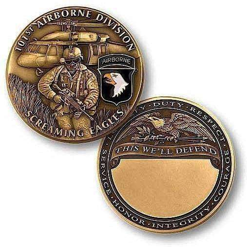 101st Airborne Division Challenge Coin - OPSGEAR