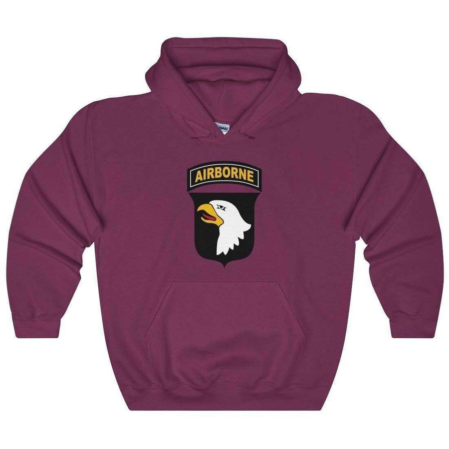 101st Airborne Heavy Blend Hooded Sweatshirt - OPSGEAR