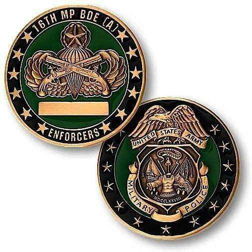 16th Military Police Brigade (Airborne) Challenge Coin - OPSGEAR