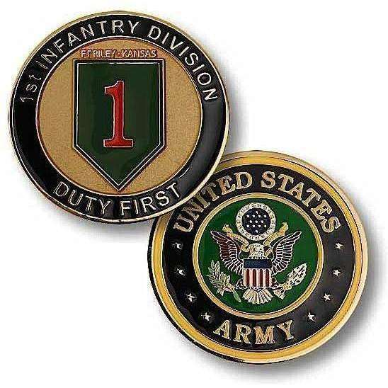 1st Infantry Division Challenge Coin - OPSGEAR