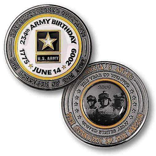 234th Army Birthday Challenge Coin - OPSGEAR