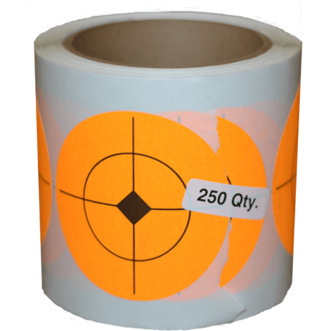 2.5 Inch Target Shooting Targets Sticker Roll - OPSGEAR
