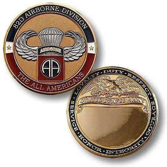 OPSGEAR:82nd Airborne Basic Jump Challenge Coin