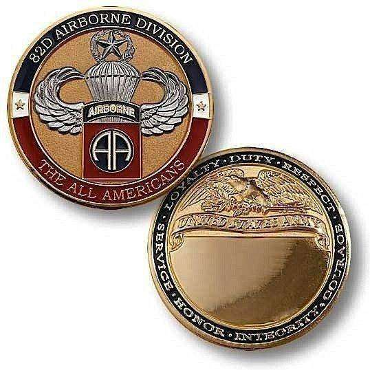 OPSGEAR:82nd Airborne Master Jump Challenge Coin