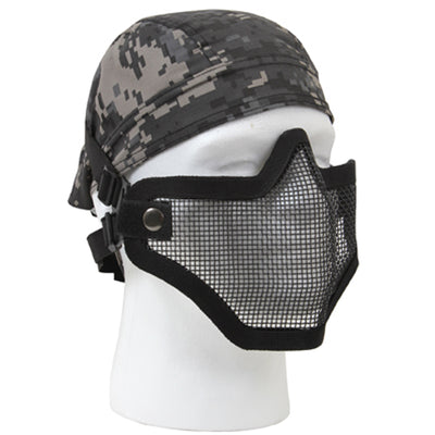 Bravo Tac Gear Strike Steel Half Face Mask - Rothco