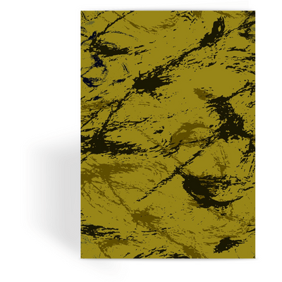 OPSGEAR:Abstract Military Mustard CAMO Greeting Card