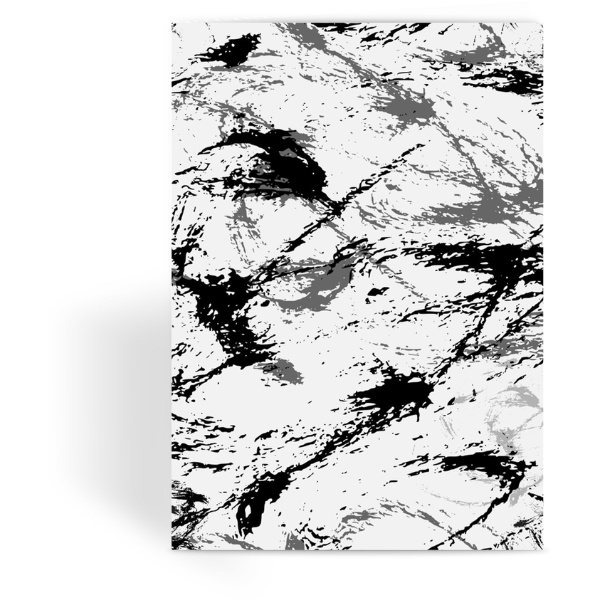 OPSGEAR:Abstract Military Snow CAMO Greeting Card