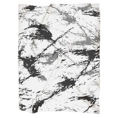 OPSGEAR:Abstract Military Snow CAMO Jersey Blankets