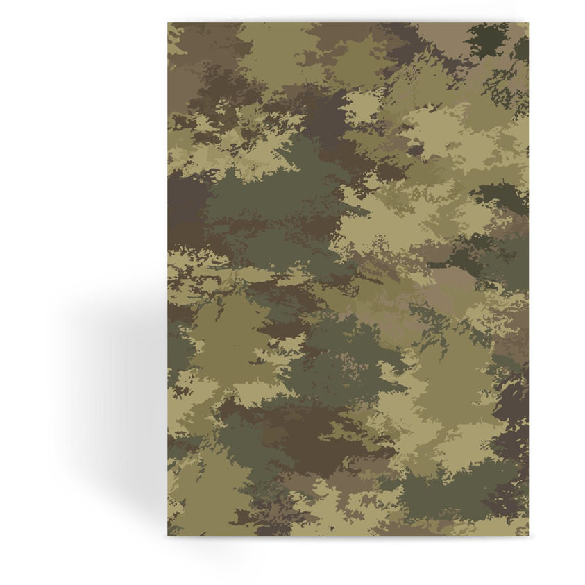 OPSGEAR:Abstract Temperate CAMO Greeting Card