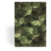 OPSGEAR:Abstract Triangle CAMO Greeting Card