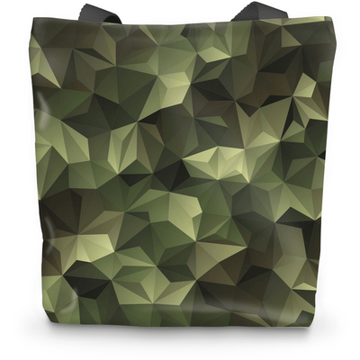 OPSGEAR:Abstract Triangle CAMO Tote Bag