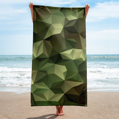 OPSGEAR:Abstract Triangle Camo Towel