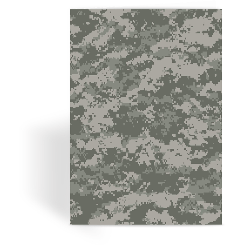 OPSGEAR:ACU CAMO Greeting Card